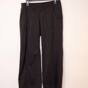 Old Navy Grey Wide Leg Workout Pants W/Pockets